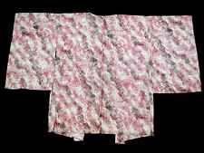 Japanese Vintage Kimono, HAORI, White