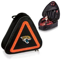 cool Jacksonville Jaguars Digital Print Roadside Emergency Kit Black