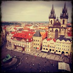 Prague, from Taeyeon's (SNSD) Instagram
