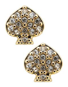 Jewellery & Accessories | Earrings | Signature Spade Crystal Studs | Hudson's Bay