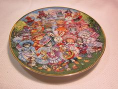 Franklin Mint Bill Bell Easter Purrade collectible plate by outoftheatticshop on Etsy