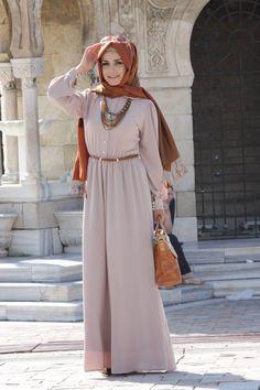 Abaya- needs a longer hijab, but i love the style