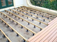Millboard offers a huge range of products that would support your project from the ground up. Rooftop Terrace Design, Rooftop Patio, Balcony Design, Garden Design, Building A Floating Deck, Building A Deck, Porche Chalet, Covered Patio Design, Balcony Deck