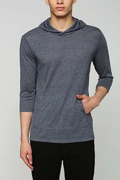 Threads 4 Thought 3/4-Sleeve Slub Pullover Hoodie Sweatshirt - Urban Outfitters