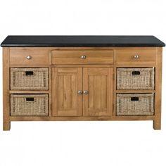Orchard Oak Workbench 1680x620x900mm - Workbenches - Kitchens
