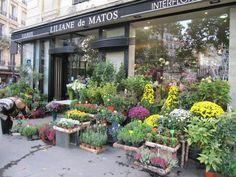 Parisian flower shoppe