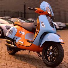 Vespa 125, Vespa Lambretta, Vespa Scooters, Custom Vespa, Custom Bikes, Motorbike Design, Pocket Bike, Motorbikes, Racing