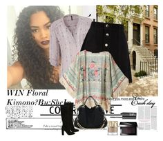 """""""WIN Floral Kimono❤By:SheIn"""" by farzija-duzel ❤ liked on Polyvore featuring moda, maurices, AG Adriano Goldschmied, Gianvito Rossi, Bobbi Brown Cosmetics ve NARS Cosmetics"""
