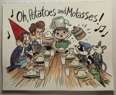 Potatoes and Molasses