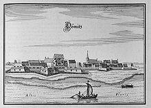 Schönes Bild vom Woosmeraner Nachbarort Dömitz um 1650