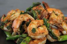 Fast, healthful and delicious—it doesn't get much better than this. Seriously—your dinner will be on the table in 15 minutes. But be warned—it might disappear just as quickly! Click on the image for our Salt and Pepper Stir-Fried Shrimp with Asparagus recipe.