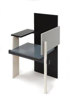 Schroder House Chair- Rietveld