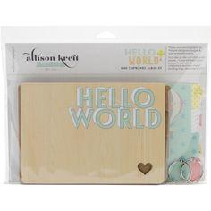 Shannia's Scrap World: Mini hello chipboard!!