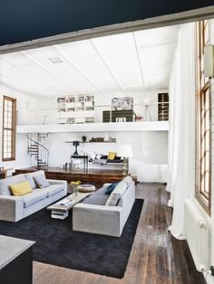 converted garage - this is exactly what I want to do to my garage.