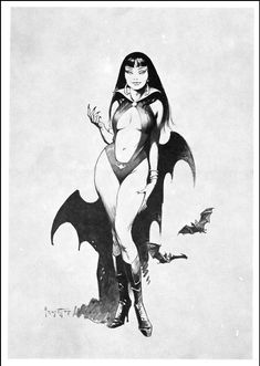 Vampirella by Frank Frazetta.