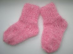 super warm,  knitted baby socks