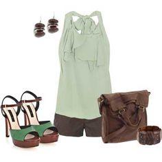 short y blusa 2