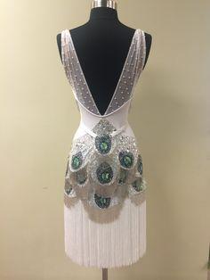 White Peacock Latin Dress → Riccardo and Yulia | Five-Time World Champions → Riccardo and Yulia World Professional Latin Dance Champions