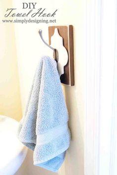 DIY Towel Hook