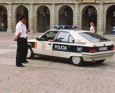 Spanish Policia car #citroen