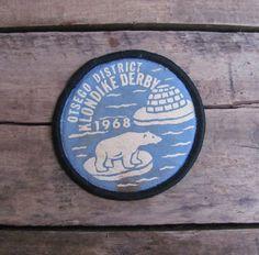vintage 1960s Boy Scouts Klondike Derby patch by MouseTrapVintage