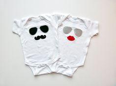 Twin Babies Onesies!