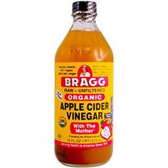 drinking Braggs apple cider vinegar