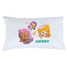 Bubble Guppies Girls and Guppy Puppy Pillowcase - Bedding & Blankets - Decor | Tv's Toy Box