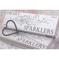 Heart Shaped Sparklers (BULK Case of 72 Wedding Sparklers) Heart Wedding Sparklers] : Wholesale Wedding Supplies, Discount Wedding Favors, Party Favors, and Bulk Event Supplies Wedding Events, Our Wedding, Dream Wedding, Wedding Stuff, Wedding Pins, Wedding Bells, Wedding Car Deco, Wedding Party Favors, Disney Wedding Favors