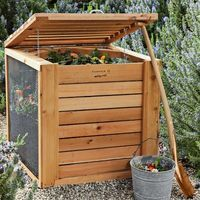 I love the Cedar Composter on Williams-Sonoma.com