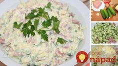 Rýchly šunkovo-syrový šalát Potato Salad, Salads, Potatoes, Ethnic Recipes, Food, Bulgur, Potato, Essen, Meals