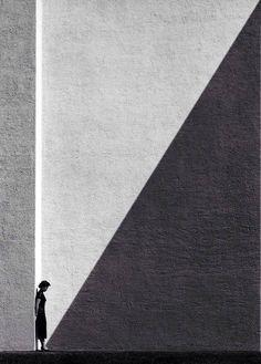 Between light & dark  By Fan Ho - 1954