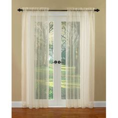 Waverly Boucle Sheer Curtain Panel