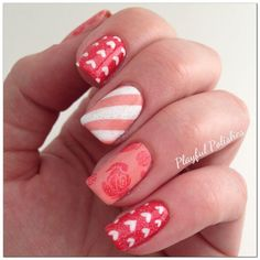 March Nail Art Challenge: Day 19, Vintage