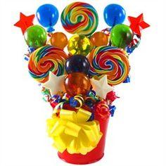 Bar Mitzvah Lollipop Balloon Centerpieces