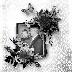 """NEW Collaboration-Kit from the Designer at Digiscrapbooking.ch  """"NOIR ET BLANC"""" http://www.digiscrapbooking.ch/shop/index.php?main_page=product_info&cPath=22_26&products_id=14525  Template-Pack Part 1by Ilonkas Scrapbook Designs  """"New Beginnings"""" http://www.digiscrapbooking.ch/shop/index.php?main_page=product_info&cPath=22_188&products_id=11060  Photo by me"""
