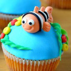 Babeczki Nemo / Findig Nemo cupcakes / ciastkozercy