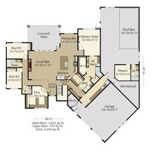 Narrow House Plans with Garage - Narrow House Plans with Garage , House Plans Narrow House Plans, Pool House Plans, Two Story House Plans, Courtyard House Plans, Garage House Plans, Country House Plans, New House Plans, Modern House Plans, Car Garage
