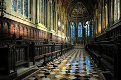 St John's college chapel - Cambridge