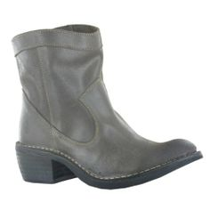 AwesomeNice Fly London Foin Dark Brown Leather Womens Boots