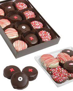 Valetines Day Chocolate Covered Oreos xoxoxoxox