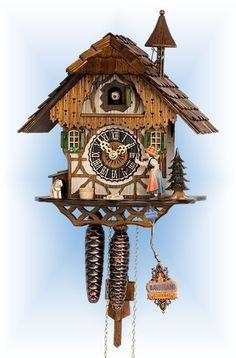 Hones Bell Ringer cuckoo clock 12'' - Bavarian Clockworks