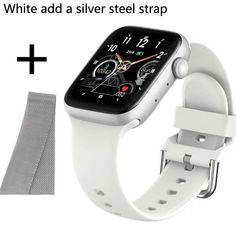 Smart Watch Waterproof Fitness Tracker - W add sliver steel / United Kingdom