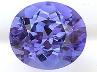 Tanzanite Look at that gorgeous color!