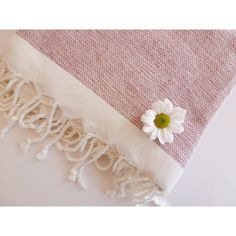 Organic Bamboo Turkish Towel Peshtemal beach and by TheAnatolian ($33) via Polyvore