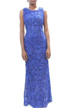 GREY LACE & SEQUIN BB MAXI DRESS #grey #africanfashion #NigerianFashion #BuyNigerian   Available at http://lespacebylpm.com/