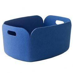 Restore säilytyskori, sininen (lelukori) Leveys 35 cm, pituus 48 cm, korkeus 23 cm. 79 EUR