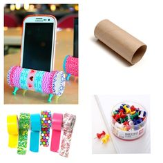 How to Make Money Diy Paper, Paper Crafts, Diy And Crafts, Arts And Crafts, Support Telephone, Diy Organisation, Video Games For Kids, Phone Holder, Free Food