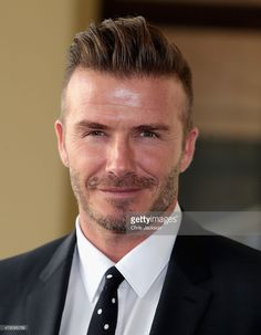 David Beckham arrives at Buckingham Palace for the Queen's Young Leaders Event…