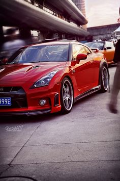 Red Nissan GTR - LGMSports.com